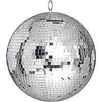 Yescom 30cm Disco Mirror Balls Glass Ball DJ Dance Decorative Stage Lighting Event Party Club Display Decoration