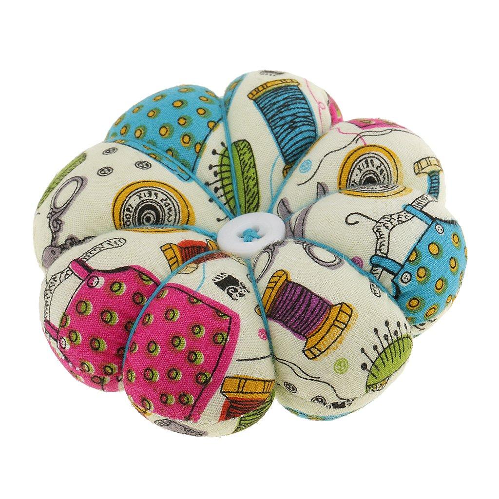 MagiDeal Coj/ín de Alfileres de Calabaza Wearable Pin Cushion para DIY Needlework A