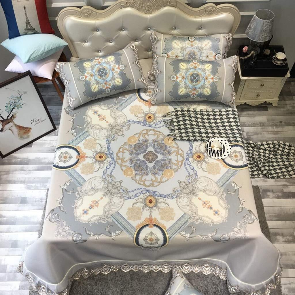 Liangliang 夏のアイスシルクの座席、快適で 洗える寝具、2色、2サイズ (色 : A, サイズ さいず : 200cm bed) B07QGNFMHH A 150-180CM bed 150-180CM bed|A