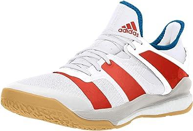 adidas Stabil x Shoe Men's Handball 7 White Solar Red Bright
