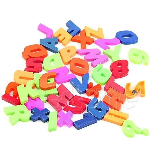 LIAN Store Imanes para Nevera con Letras de Colores: Amazon.es: Hogar