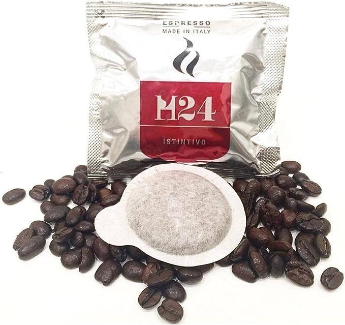 150 Cápsulas café H24 mezcla Instintivo - Fuerte sabor. Ese 44 mm ...
