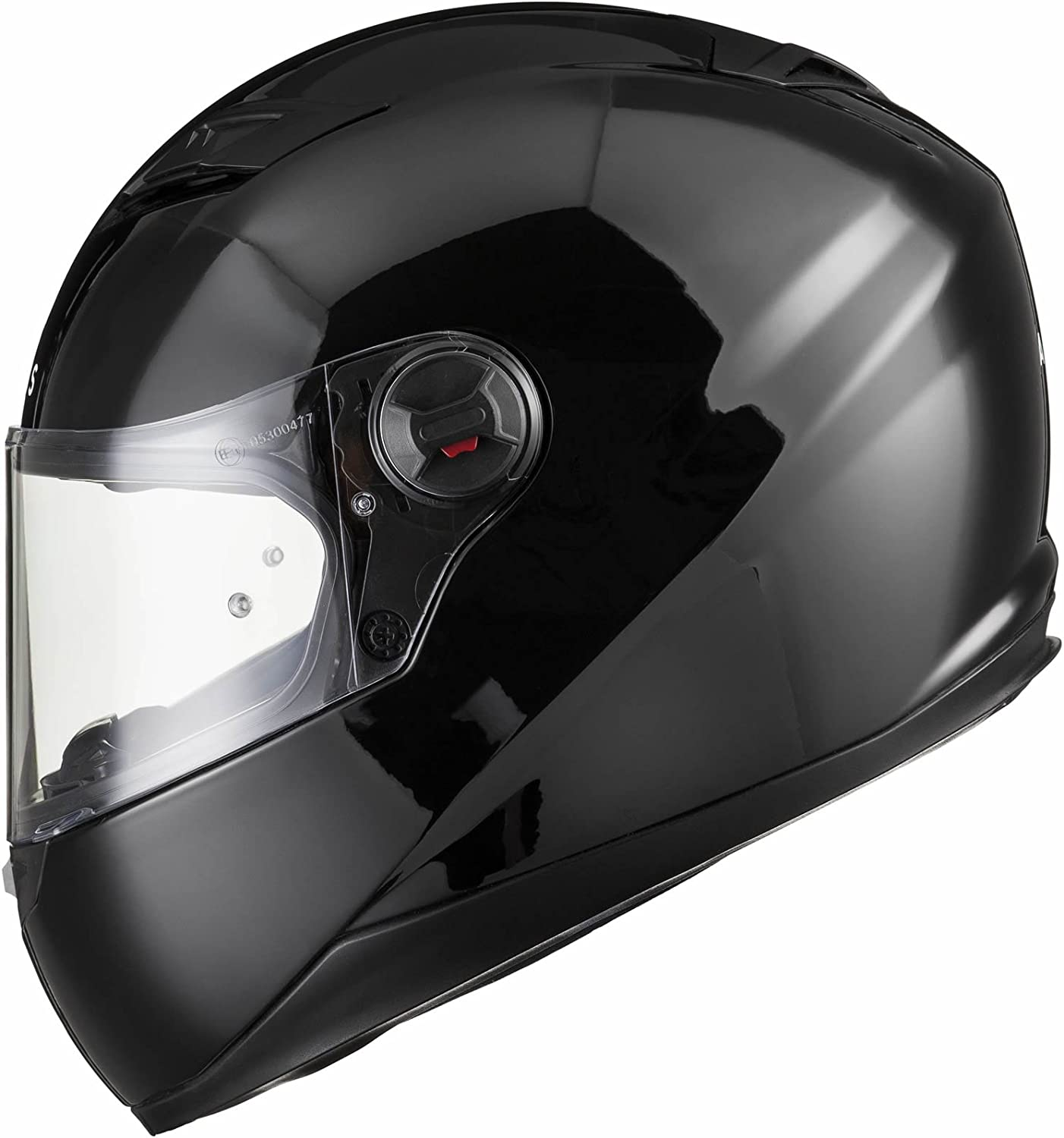 Agrius Rage SV Claw Motorcycle Helmet L Gloss Black//Fluro Orange