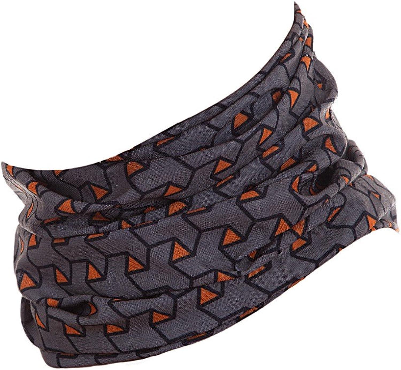 Bufanda para Hombre y Mujer Braga de Cuello Hilltop Bufanda de Tubo Multifuncional Polaina de Cuello Bandana con Dobladillos Cosidos