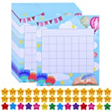 Aneco 60 Pack Colorful Classroom Incentive Chart