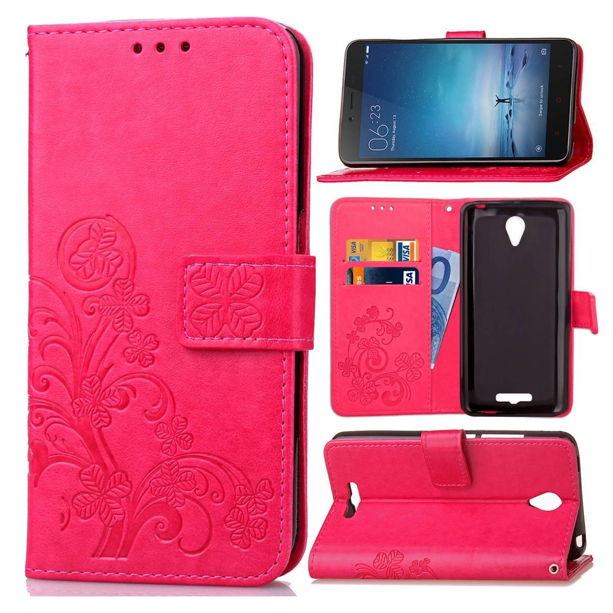 Guran Funda de Cuero PU para Xiaomi Redmi Note 2 Smartphone ...