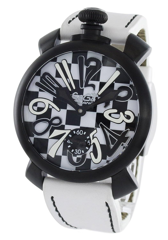 ガガミラノ マヌアーレ48MM 限定299本 腕時計 メンズ GaGa MILANO 5012.LE.CH.1[並行輸入品] B01NBWTHI8