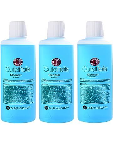 3 x Cleaner 100ml para uñas de gel / Aroma Coco / Eliminar la capa pegajosa