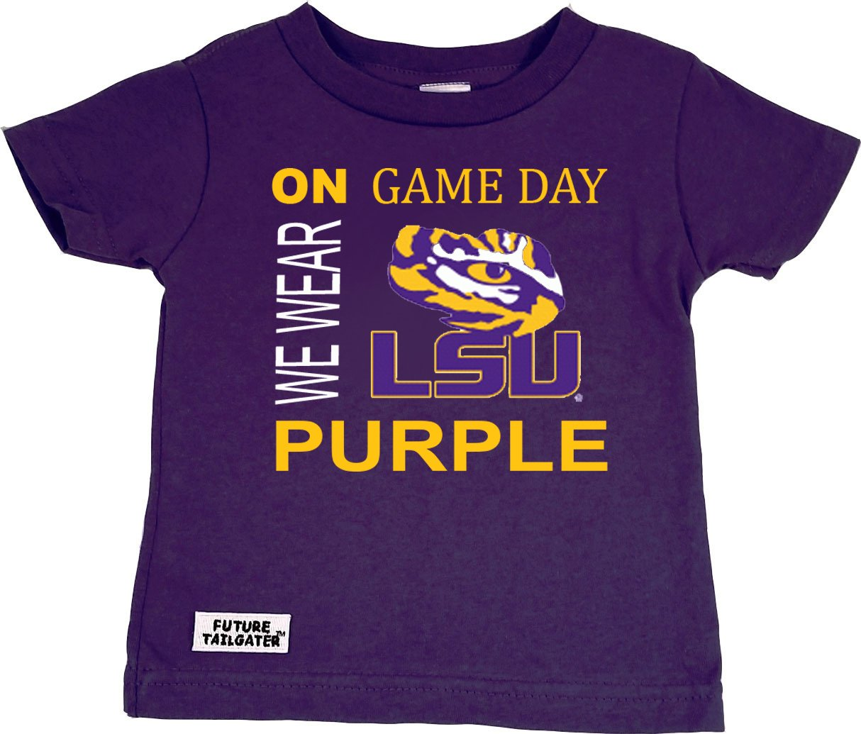 Future Tailgater LSU Tigers On Game Day Baby Toddler T-Shirt DHM Kids 27e5c7e96