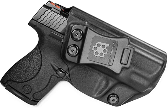 Amberide IWB KYDEX Holster Fit: Smith & Wesson M&P Shield 9/40 (Incl. M2.0) - 3.1