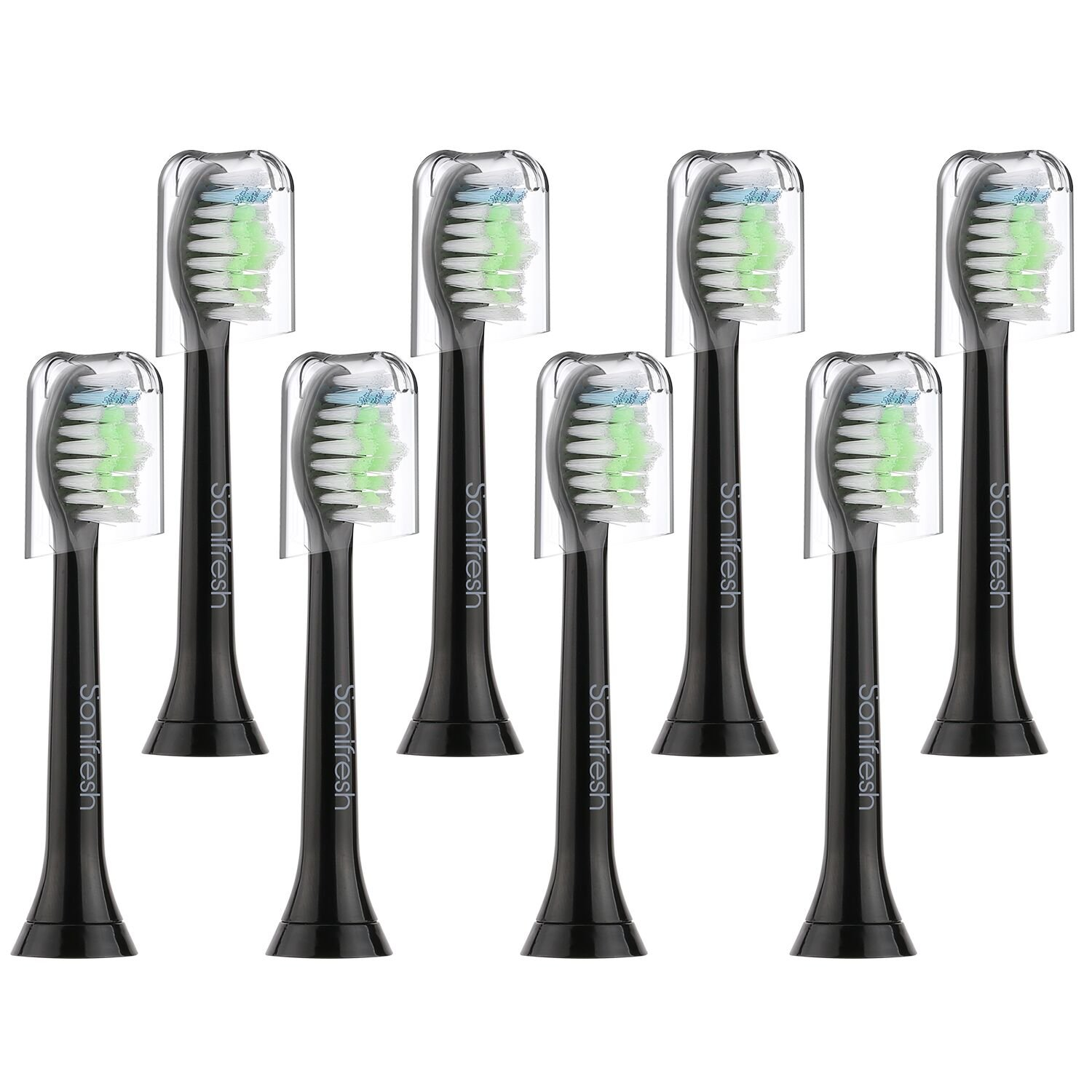 Sonifresh Sonicare Replacement Heads, Sonicare Toothbrush Heads For Phillips Sonicare Electric Toothbrush- Fits Plaque Control, Gum Health, DiamondClean, Flexcare, EasyClean, and HealthyWhite, 8 Pack
