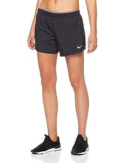 c9c00998ff Amazon.com  Nike Women s Moisture Wicking Quick Dry Shorts (Black ...