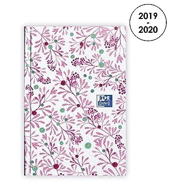 Amazon.com: Oxford Flowers 2019-2020 Agenda Agosto a Agosto ...
