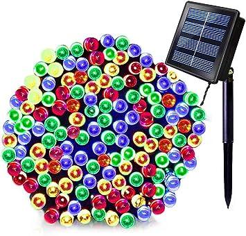 72ft 200 LED Outdoor Solar Power String Lights Garden Christmas Fairy Lamps Home