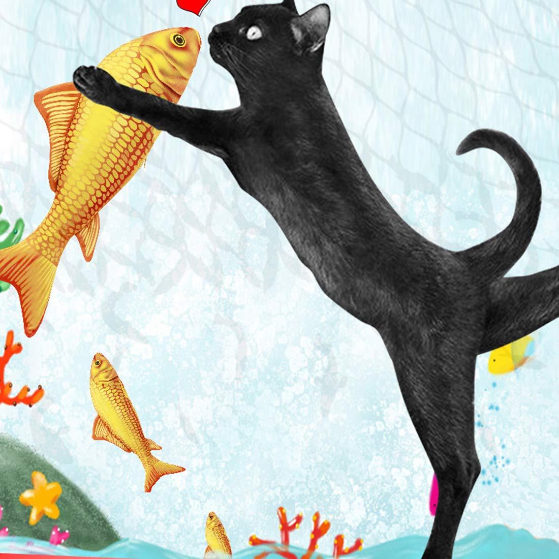 Hot Sale  1PC Creative Pet Cat Kitten Chewing Cat Toys Catnip Stuffed Fish Interactive Kitten Product Cat Supplies