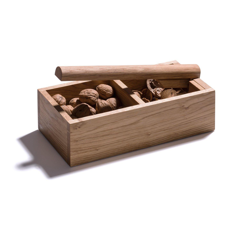 Nussknacker mit 2 F/ächern und starkem Hebel plastikfrei /& nachhaltig produziert 4betterdays.com NATURlich leben aus heimischem Eichenholz Handgefertigt in Deutschland