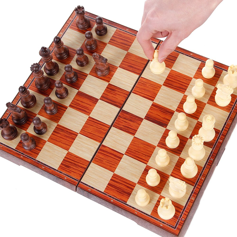 KIDAMI Magnetic Travel Chess Set