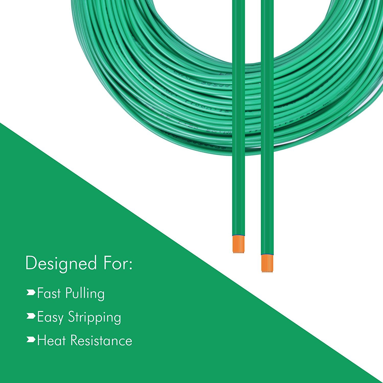 Plaza Pvc Insulated 25 Sq Mm Cable Green 90m Home Wiring Diagram Shows Arrows In Red Point To The Wires Question Improvement