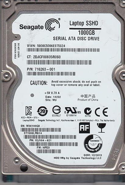 Disco duro para portátil - Seagate Laptop SSHD 1 TB - Disco duro ...