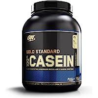 Optimum Nutrition (ON) Gold Standard 100% Casein Protein Powder - 4 lbs, 1.82 kg (Cookies and Cream)