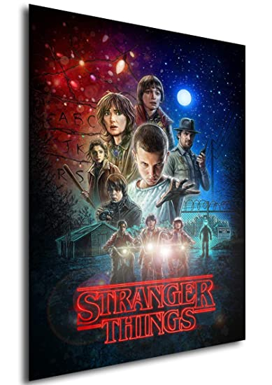 Instabuy Poster Stranger Things - Temporada 1 (A3 42x30 ...