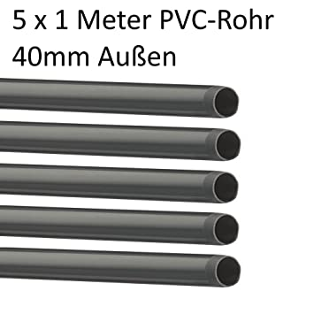 Pvc Rohre Oder Fitting ø 40 Mm Fitting Winkel Kniestück Adapter