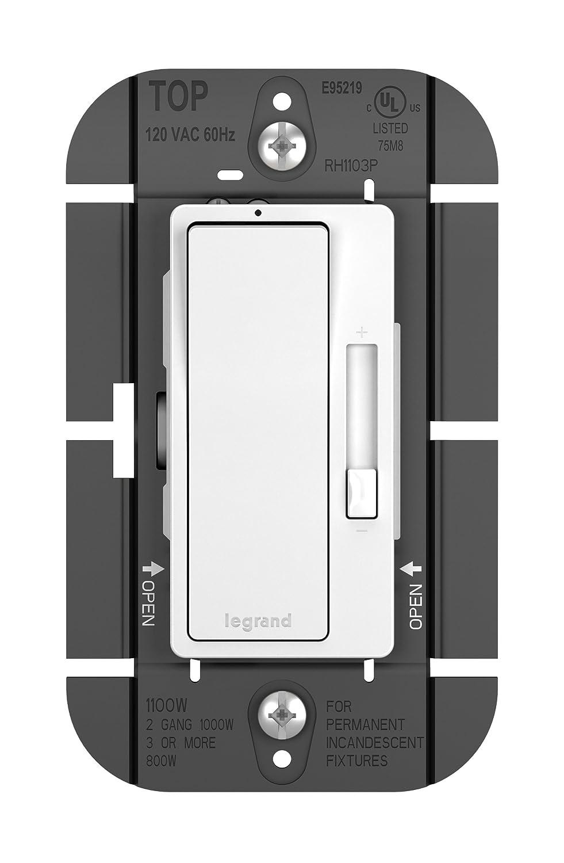Legrand Pass Seymour Rh1103ptcccv6 120v 1100w Single Pole 3 Way 2 Switch Dimmer