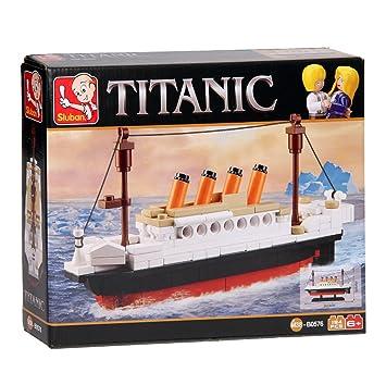 Sluban ConstruccionBarco Titanic194 0576Juego Piezas De doCxWrBe