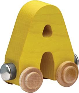 product image for NameTrain Bright Finish Letter Cars - A (Colors may vary)