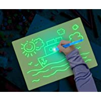 Fun Drawing Pad Board Glow in Dark with Light for Kids Painting Board Educational Toy and Developing Drawing or Writing…
