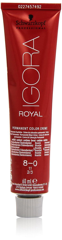 Schwarzkopf Professional Igora Royal 8-0 Tinte - 60 ml