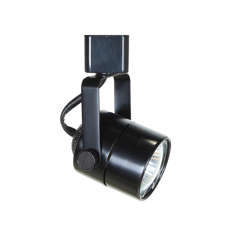 Direct lighting 50154 black gu10 line voltage track lighting head no bulb