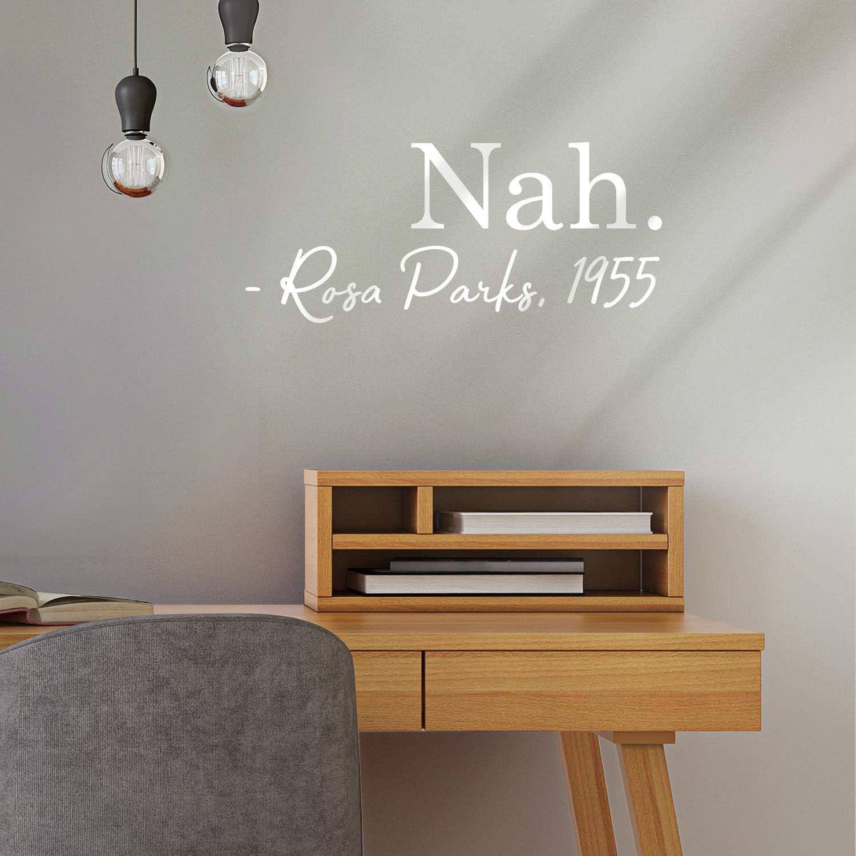 Vinyl Wall Art Decal - Nah - 9