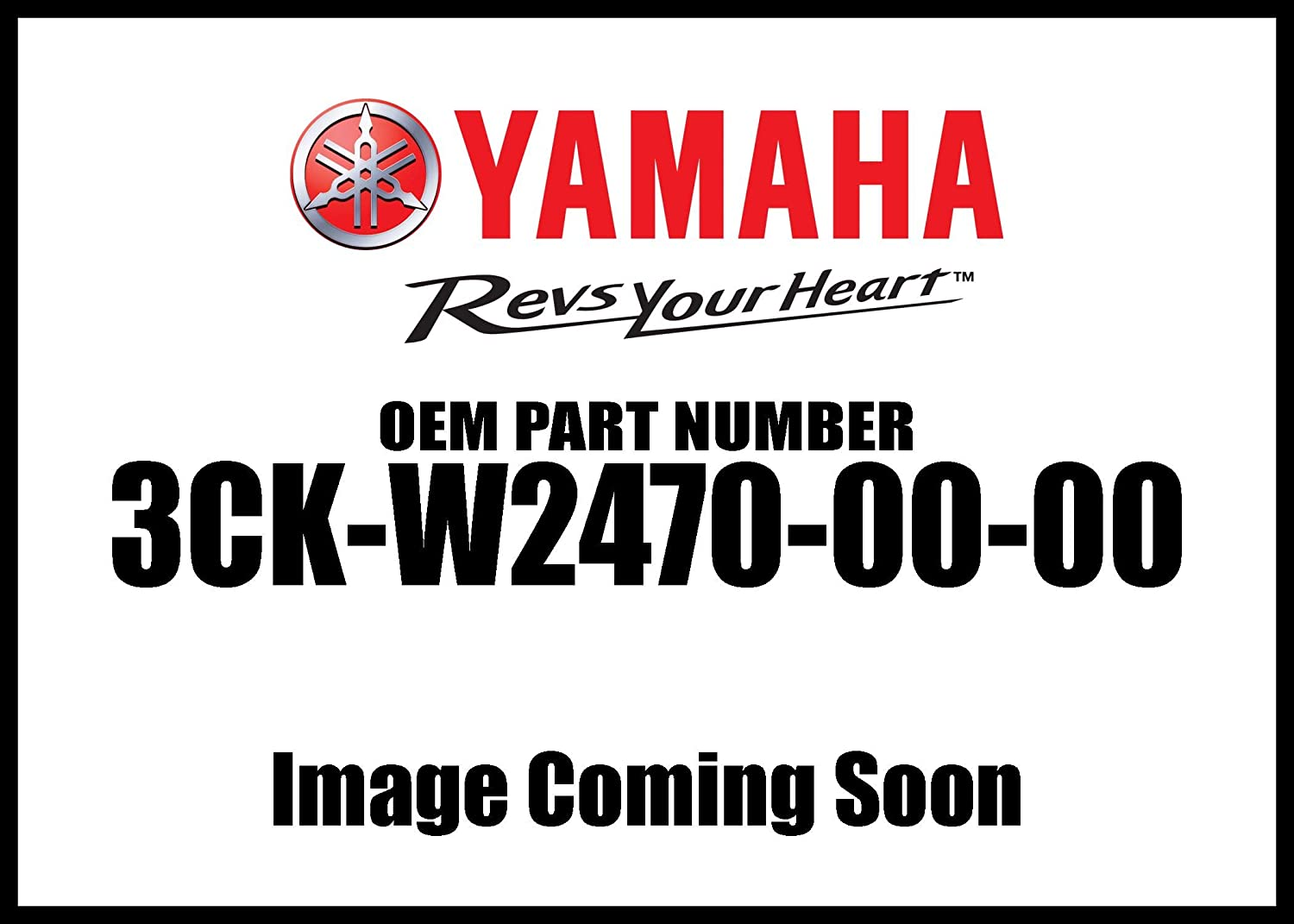 Yamaha 3CKW24700000 Seat Lock Assembly