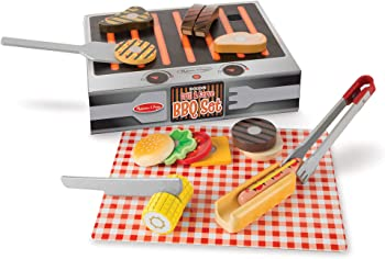 Melissa & Doug Imagination And Creativity-Sparking Grill Sets For Kids