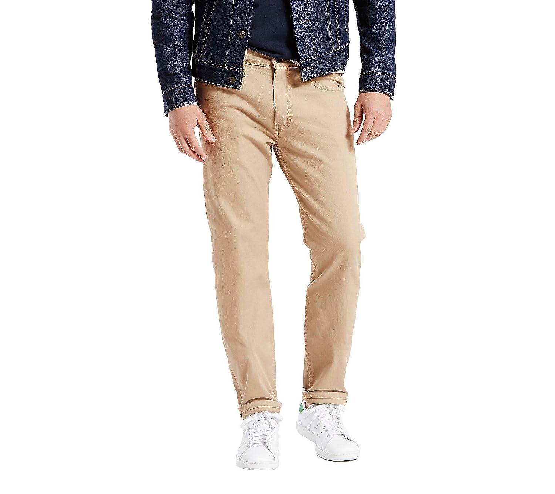 cda338c17f8 Levi's¿ Mens Men's 502 Regular Taper Fit True Chino Bull Denim 40 34 at  Amazon Men's Clothing store: