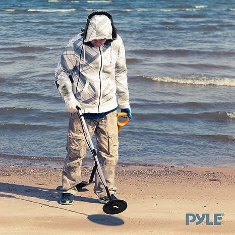 Pyle PHMD4 - Detector de metales con auriculares de circuitos integrados: Amazon.es: Industria, empresas y ciencia
