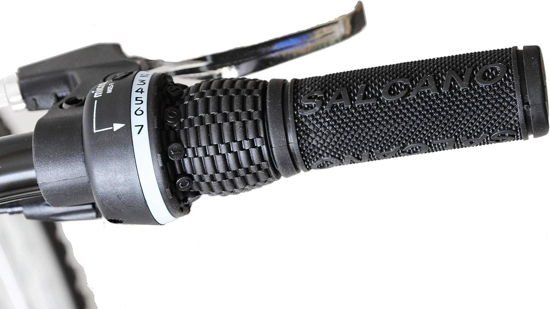 "Shocker 26/"" Wheel Front Suspension Mountain Bike 19/"" Frame Black//Red 21 Speed"