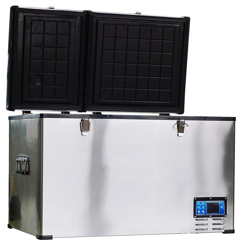 HOMCOM 12V / 24V portátil congelador del Coche Mini refrigerador ...