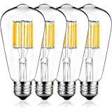 Vintage LED Edison Bulb 100W Equivalent, DORESshop No Dimmable 10W ST64(ST21) Antique LED Filament Light Bulb, Warm…
