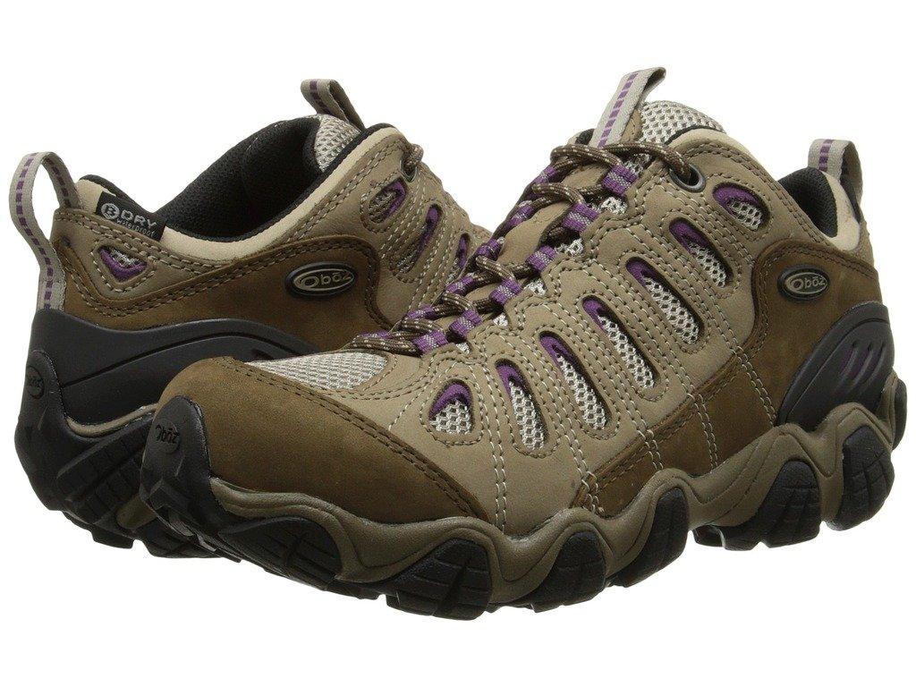Oboz Women's Sawtooth Low Bdry Hiking Shoe,Violet,9 M US