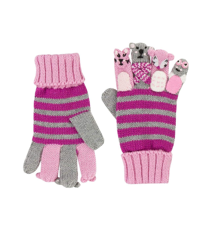 Döll Baby-Mädchen Handschuhe Fingerhandschuhe Strick