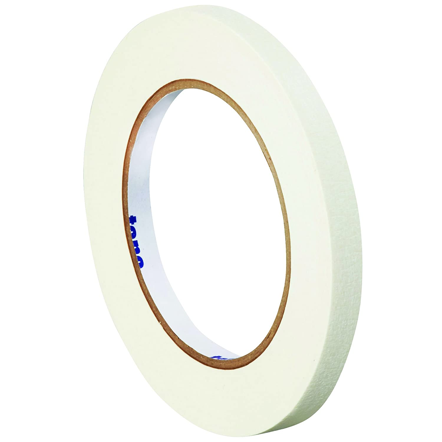 Colored White Masking Tape 12 Rolls Home and Office Tape Logic TLT93300312PKW Thick 4.9 Mil Multi Use for Narrow Fine Trim Detailing Labeling Packing Painting 1//2 Inch x 60 Yds Per Roll Identification Arts and Crafts