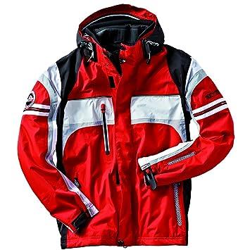 Northland Professional Ski Johnny - Chaqueta de esquí para hombre, color rojo/plata, talla L: Amazon.es: Deportes y aire libre