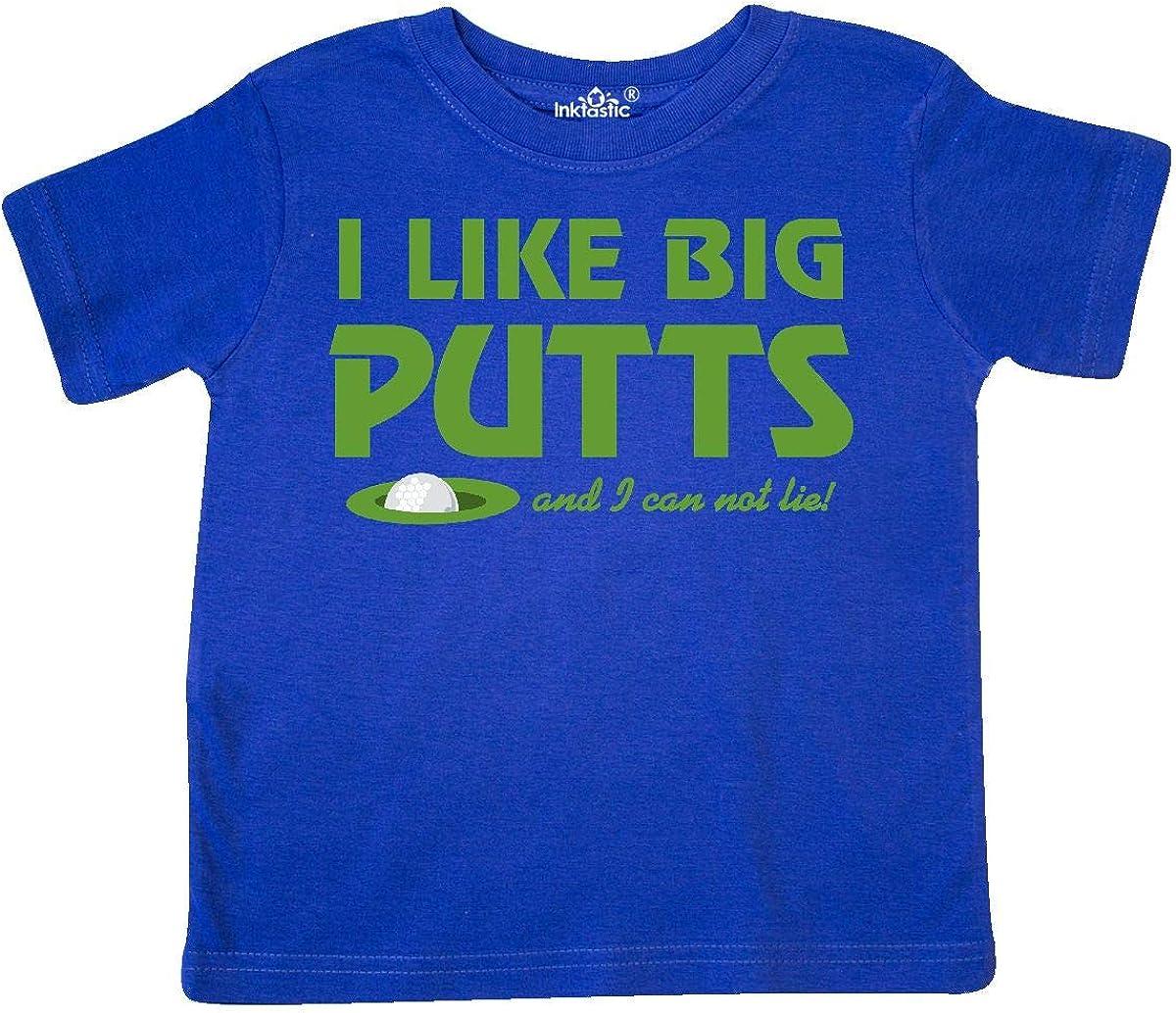 inktastic I Like Big Putts Toddler T-Shirt