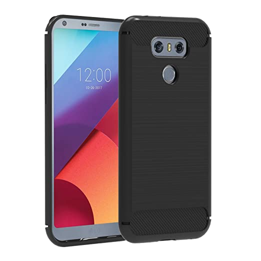 3 opinioni per Cover LG G6, iVoler® LG G6 Morbido Soft TPU Custodia con Massima Protezione Da