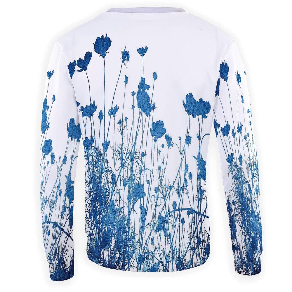 MOOCOM Unisex Abstract Sweatshirts Crewneck