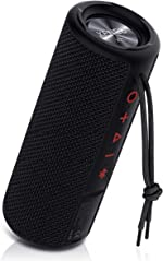 Xeneo X21 Portable Outdoor Wireless Bluetooth Speaker Waterproof with FM Radio,