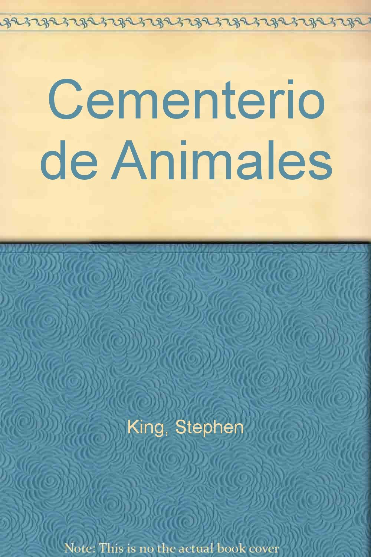 Amazon.com: Cementerio de Animales (Spanish Edition) (9788484508762): Stephen King: Books
