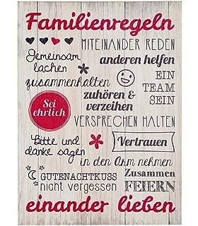 Poster Für Kinderzimmer Unser Zuhausefamilie Spruch Din
